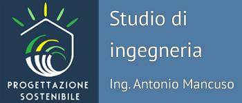 Progettazione sostenibile ingegnere Antonio Mancuso